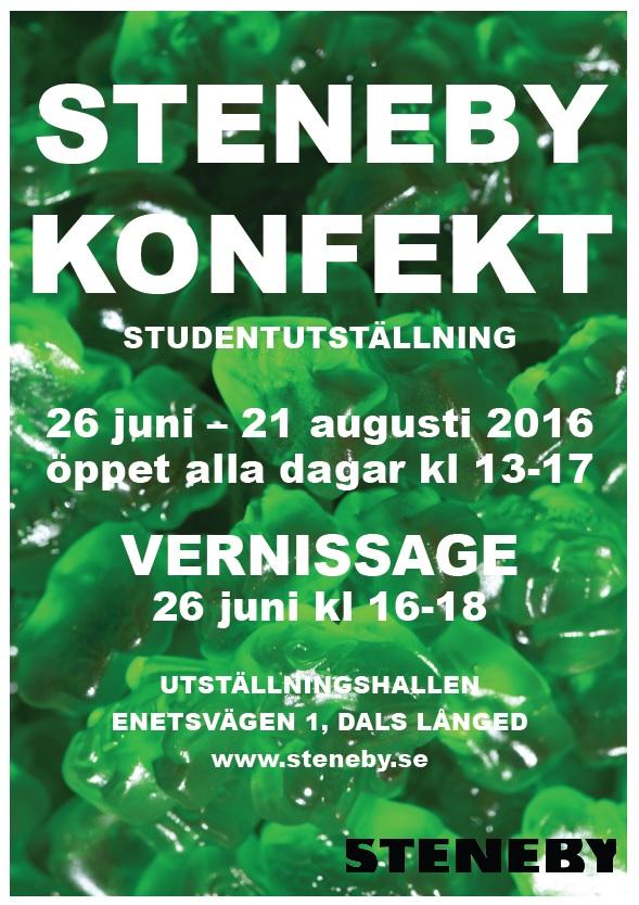 STENEBY_KONFEKT-Affisch