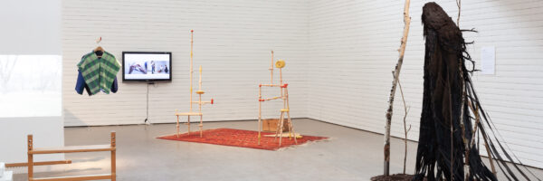 (In)timate Formations (2021): Speculations on the matter of making. Foto: Theo Rosengren